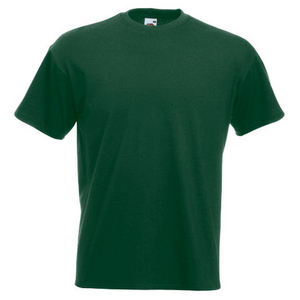 Premium Heavyweight Tshirt Harare Bottle Green