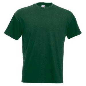 Premium Heavyweight Tshirt Harare Bottle Green