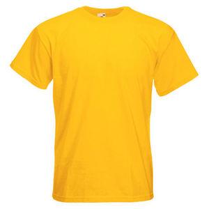 Premium Heavyweight T-shirt Harare Yellow