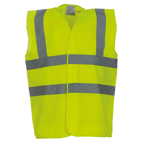 Printed Safety Jackets Waistcoat